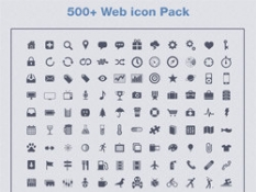 500+ Web icon Pack