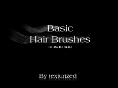 头发笔刷  Hair_brushes___smudge_usage_by ...